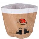 wholesale Plants & Pots: Paper plant bag Nino, diameter 20cm, height 22c